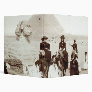 C. 1885 Americans in Egypt Binder
