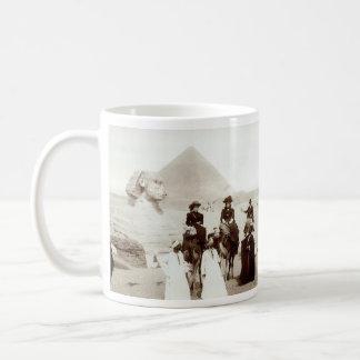 C. 1885 Americans in Egypt Mugs