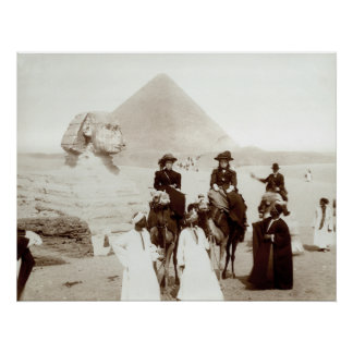 C. 1885 Americans in Egypt Posters
