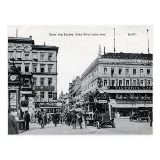 c 1905 Berlín, tilo de la guarida de Unter, Postales