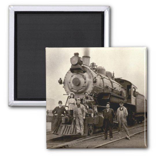 C. 1905 Railroad Train Magnet