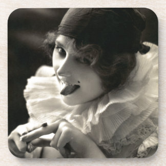C. 1910 Pretty Woman's Taunt Drink Coaster