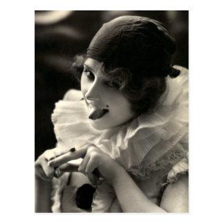 C. 1910 Pretty Woman's Taunt Postcard