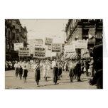 C. 1930 Rally in Boston Greeting Card