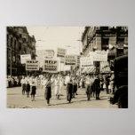 C. 1930 Rally in Boston Print
