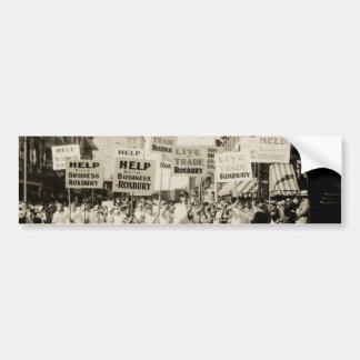 C. 1930 reunión en Boston Pegatina Para Auto