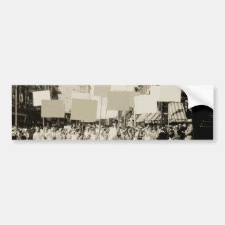 C. 1930 reunión pegatina para auto