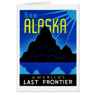 C. 1935 See Alaska! Card