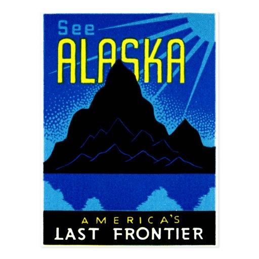 C. 1935 See Alaska! Postcard