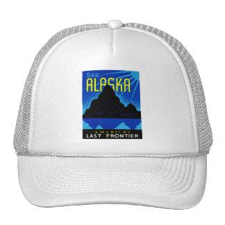 ¡C. 1935 vea Alaska! Gorros Bordados