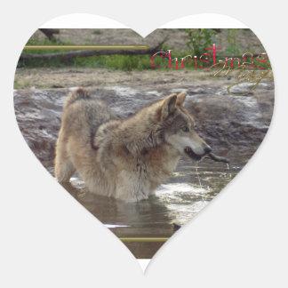 c-2011-grey-wolf-005 heart sticker