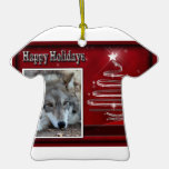 c-2011-grey-wolf-033 christmas tree ornaments