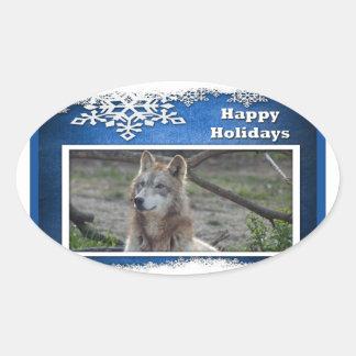 c-2011-grey-wolf-037 oval sticker