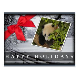 c-2011-panda-0042 tarjeta postal