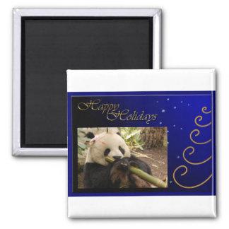 c-2011-panda-0052 imán cuadrado
