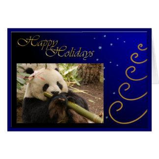 c-2011-panda-0052 tarjeta de felicitación