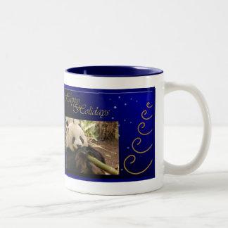 c-2011-panda-0052 taza de café de dos colores