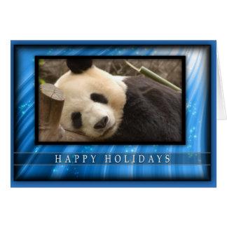 c-2011-panda-0064 tarjeta de felicitación