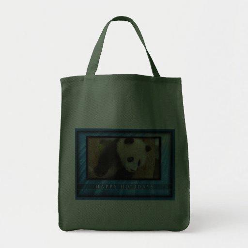 c-2011-panda-0065 bolsa tela para la compra