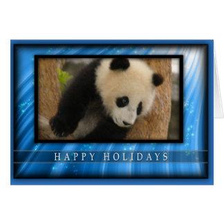 c-2011-panda-0065 tarjeta de felicitación