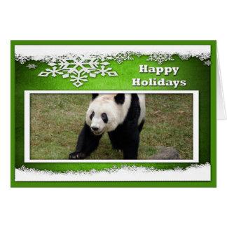 c-2011-panda-0076 tarjeta de felicitación