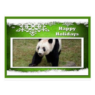 c-2011-panda-0076 tarjeta postal