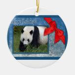c-2011-panda-0087 ornamento para arbol de navidad