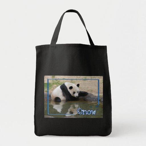 c-2011-panda-0091 bolsa tela para la compra