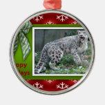 c-2011-snow-leopard-006 ornaments para arbol de navidad