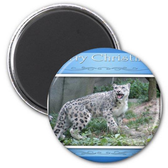 c-2011-snow-leopard-038 magnet