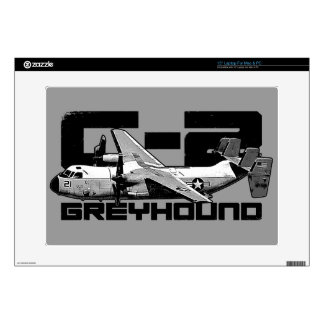 """C-2 Greyhound 15"""" Laptop For Mac & PC Skin Decals For Laptops"""