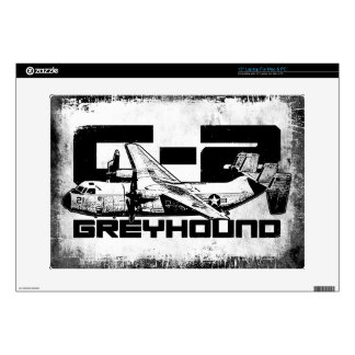 "C-2 Greyhound 15"" Laptop For Mac & PC Skin Laptop Decals"