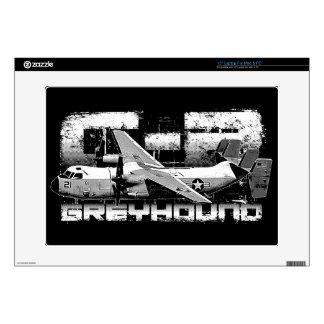 """C-2 Greyhound 15"""" Laptop For Mac & PC Skin Laptop Skin"""