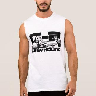C-2 Greyhound Men's Ultra Cotton Sleeveless T-Shi Sleeveless Shirt