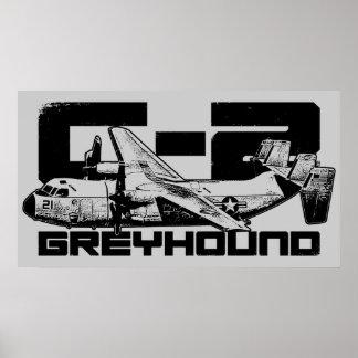 C-2 Greyhound Print