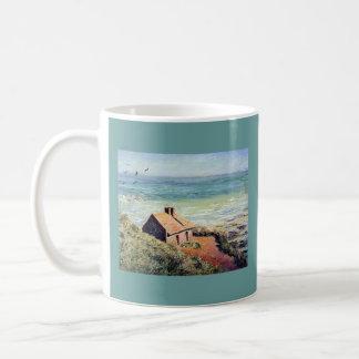 c-2 monet house by the sea mug