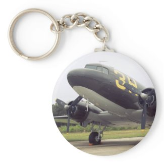 C-47/DC-3 Gooney Bird Keychain keychain