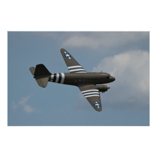 C-47 Invades Warbirds Over Delaware Print