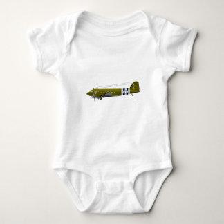 C-47 Skytrain de Douglas Body Para Bebé