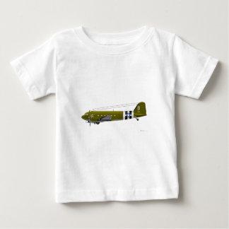 C-47 Skytrain de Douglas Playera De Bebé