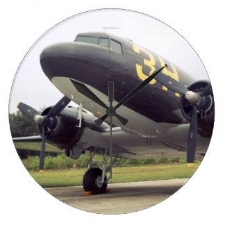 C-47 Wall Clock