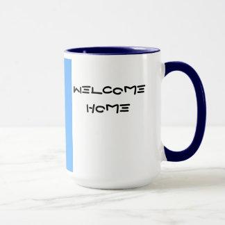 C-5 Galaxy Mug Welcome Home