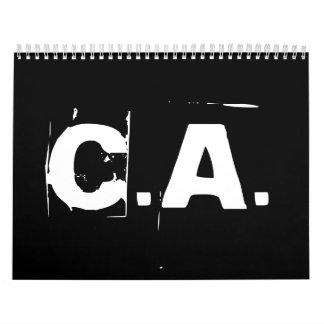 C.A. Official Calender Calendar