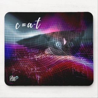 c=a*t - wormhole mouse pad by Felini
