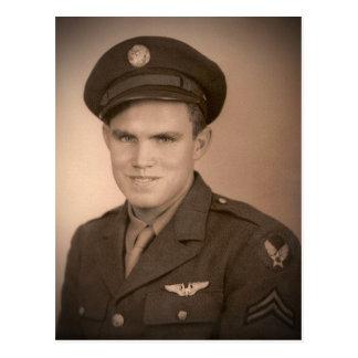 """C. A. Villines - WWII"" Postcard"