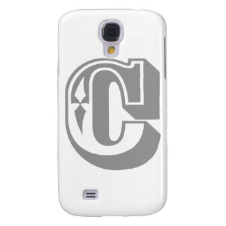 """""""C"""" Alphabet Letter Tee Galaxy S4 Cover"""