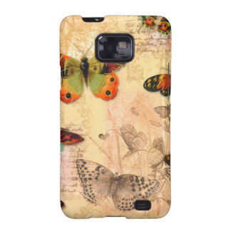 C Android Samsung Galaxy Case Monarch Butterflies Galaxy S2 Case