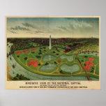 C.C. de Washington, 1892 (E. Johnson) BigMapBlog.c Impresiones