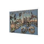C.C. de Washington - Escenas grandes de la letra Impresiones En Lona Estiradas