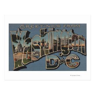 C.C. de Washington - Escenas grandes de la letra Tarjetas Postales